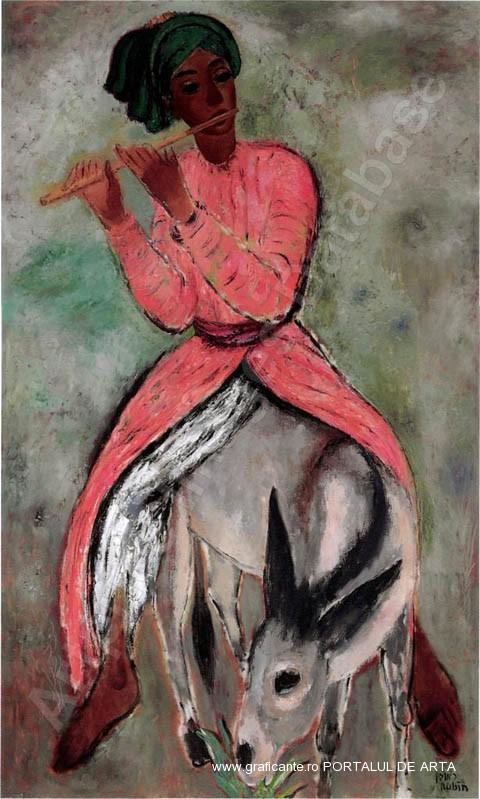 Reuven-Rubin-Cantaretul-la-flaut
