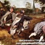 """""""Orbii condusi de orbi"""" de Bruegel cel Batran"""