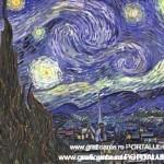 """""""Noapte instelata"""" de Vincent van Gogh"""