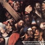 """""""Cristos carandu-si crucea"""", de Hieronymus  Bosch, versiunea din Ghent"""