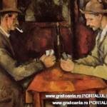 """""""Jucatorii de carti"""" de Paul Cezanne"""