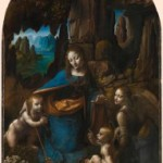 """Madona intre stanci"" de Leonardo da Vinci, versiunea din Londra"