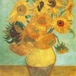 """""""Floarea soarelui"""" de Vincent Van Gogh, (versiunea Philadelphia)"""