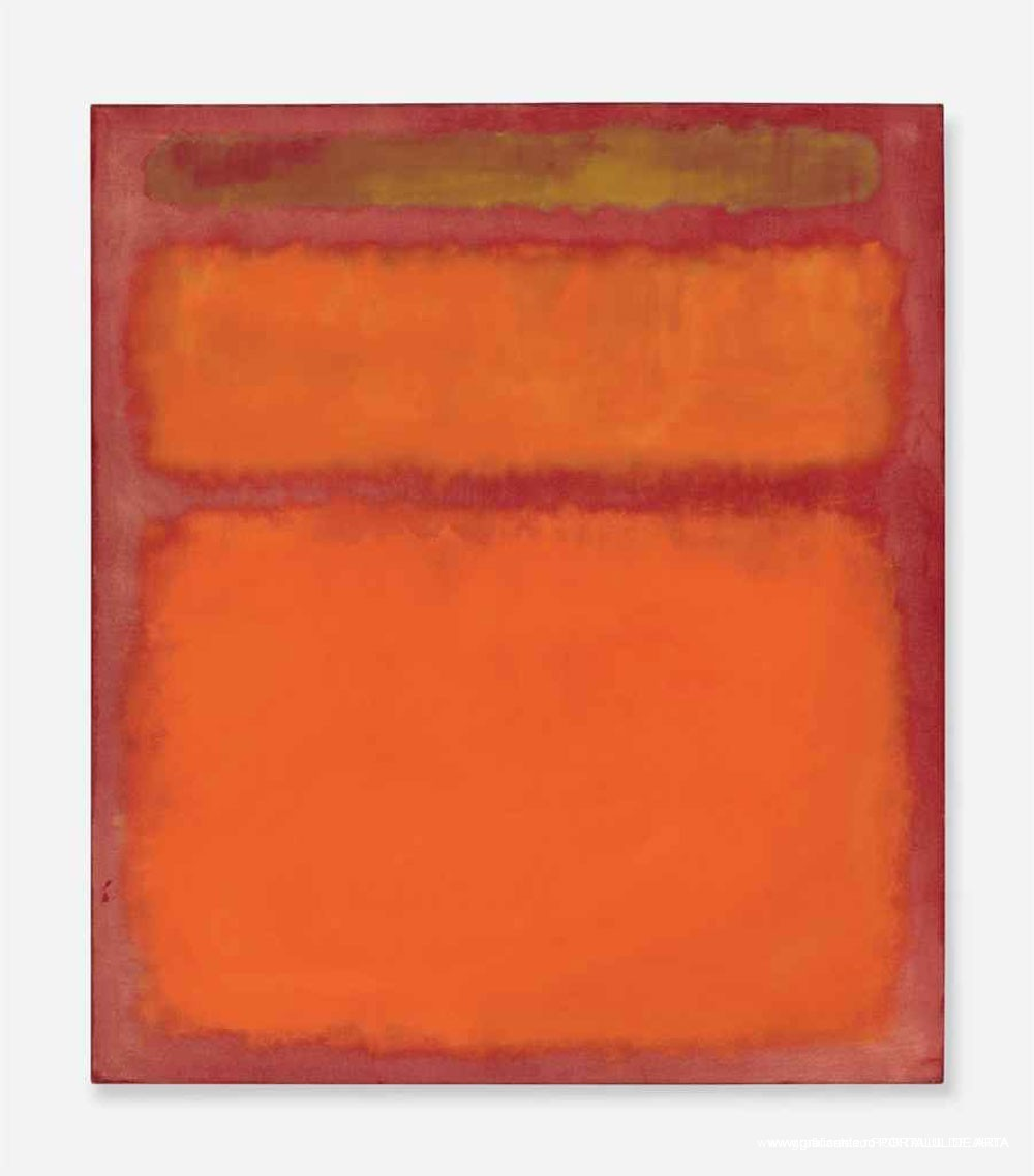 Mark Rothko's Orange, Red, Yellow Painting