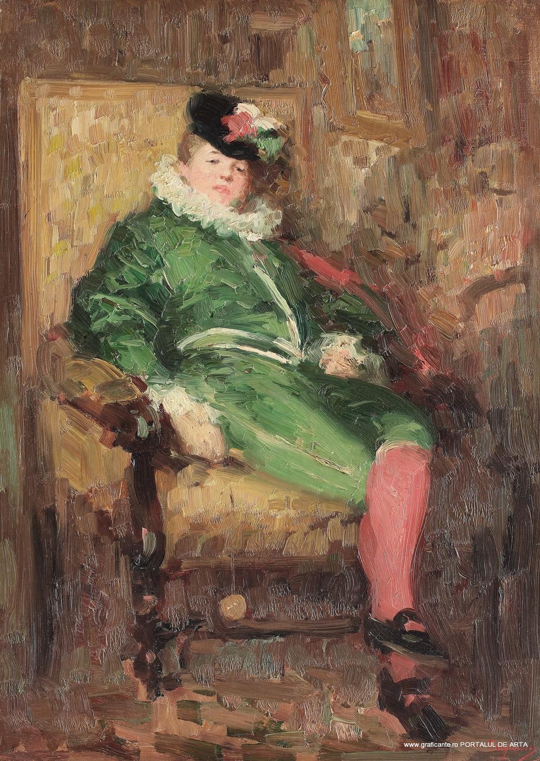 Nicolae Grigorescu, Colombina in verde