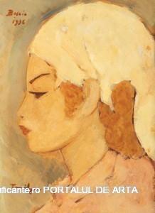 Micuta tataroaica – ulei pe carton (40 x 30 cm) adjudecat: 91. 566 euro (2009, casa Alis)