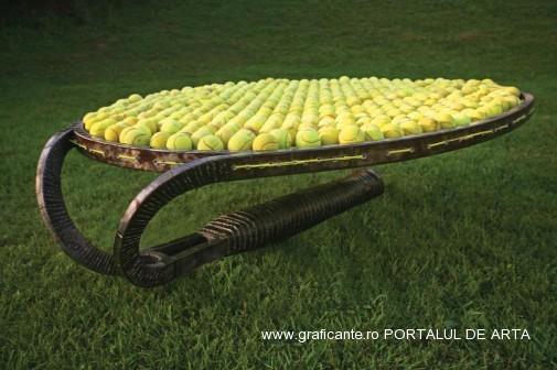 Erno Bartha, Tenis bad, adjudecat: 5.000 euro, Artmark, 2013