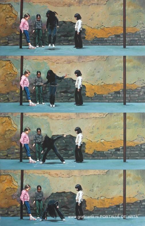 Roman Tolici, Un joc, Adjudecat: 5.500 euro, Artmark, 2011