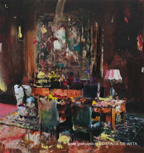 Adrian Ghenie, Pie Fight, Interior, (c)tajan.com