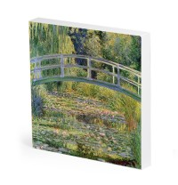 The Japanese Bridge (varianta London) de Claude Monet, reproducere canvas 75 x 80 cm