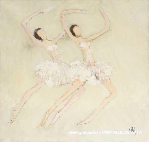 Constantin Piliuta, Balerine, adjudecat: 15.500 euro, Artmark, 2011, (c)artmark.ro