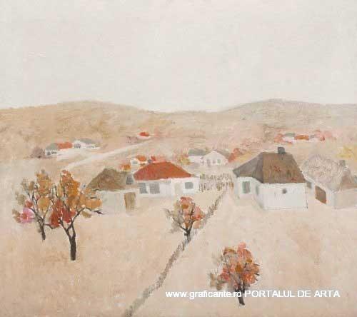 Constantin Piliuta,Toamna in sat, adjudecat: 2.500 euro, Artmark, 2014, (c)artmark.ro