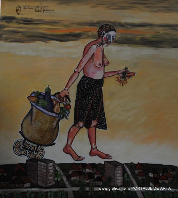 Ana Ruxandra Ilfoveanu, Drumul spre paradis, Expozitia de primavaraMTR, 2014, (c)Lucian Muntean