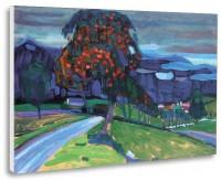"""""""Toamnă în Murnau"""", tablou de Vassily Kandinsky, reproducere canvas 50 x 40 cm"""